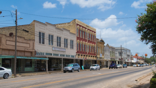 a small town in texas