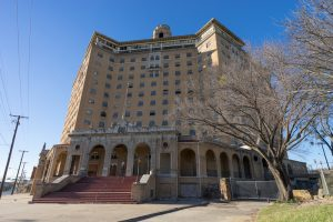 A historic hotel in texas